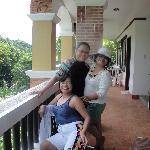 photo ops at the veranda....