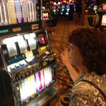 A big variety of slot machines to choose from