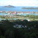View of Mahe Island