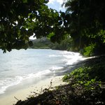 The beach by the Villa