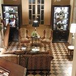 Living Room sitting room of La Perla Hotel Boutique