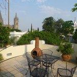 Rooftop Terrace View of the City of Guadalajara
