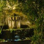 Fountain La Perla carved Cantera Stone