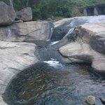 stream in the falls