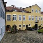 Innenhof des Palazzo Strassoldo