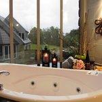 Enjoy the spa bath