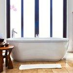 The bath in the villa