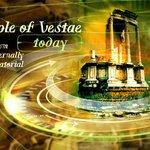 Tempio di Vesta oggi.....
