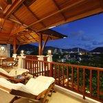 Villa Cattleya C9, Terrace, Pool view