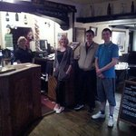 Staff at Cross Keys Pub