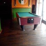 Our new Biljard table