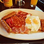 Breakfast at The Smugglers Inn... Amazing!