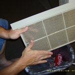 Cleaning the AC Filter