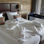 Schlafzimmer UG mit Terrasse und Whirlpool