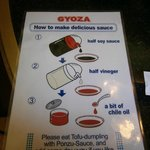 Como hacer la salsa para mojar los gyoza