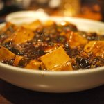 One of the best tofu dishes ever. With pickled relish mixed somewhere in there.