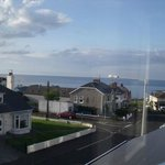 View from window at Knock bed and breakfast Portstewart
