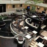 Nice, updated atrium lobby