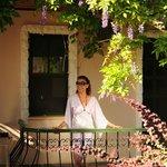 Balcony..