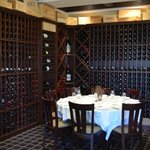 Wine Room at Coleman Brook Tavern