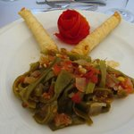 August 2012 - The first dish