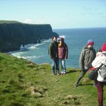 nearby cliffs of moher