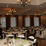 Our wedding reception in the grand ball room