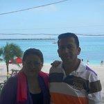 Balcony in front of Junkanoo Beach