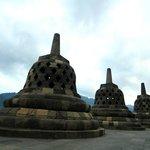 A scene from Borobudur