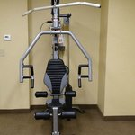 some of the fitness equipment