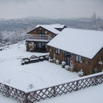 Winchfawr Lodges at Christmas