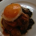 Chicken with Fried Egg