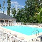 La piscine chauffée vue 1