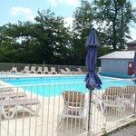La piscine chauffée vue 2