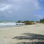 Praia reservada à prática do naturismo