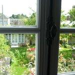 Vue de la chambre 'Cerisier' sur le jardin