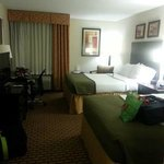 Our room with 2 kings beds