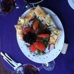 Eggplant mousse appetizer