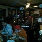 Blues band at Papa's