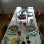 El desayuno que nos preparó Johan