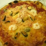 great sea food pizza