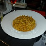 Celentani with chicken and broccoli