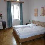 Bedroom of Mariahilf Hotel