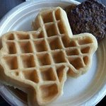 Texas Waffles were awesome!
