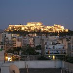 Akropolis from Roof Garden bar