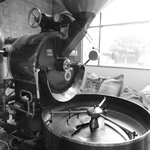 Over 50 years old and still going strong. Our beloved coffee roaster.