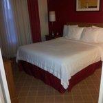 Queen Bed in One Bedroom