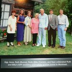Billy Graham with Family