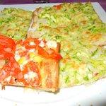 Gross pizza!