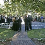 An exquisite wedding on the labyrinth at The Homestead